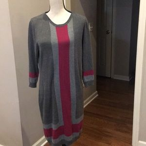NY Collection sweater dress.  Large